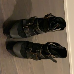 Burberry ankle boots only worn three times.